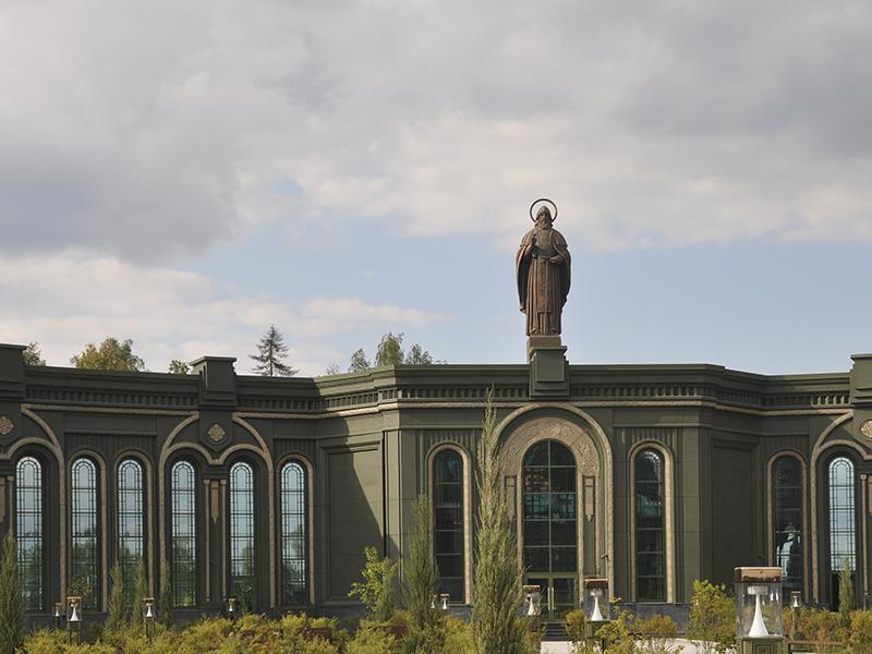 скульптура Сергия Радонежского